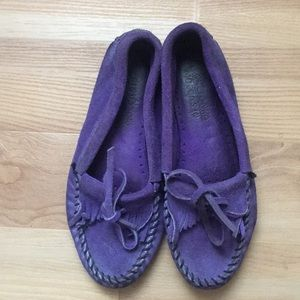 Purple Moccasins!